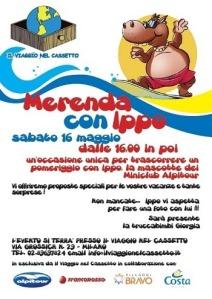 merenda con Ippo