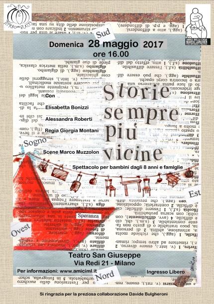 New Volantino Storie sempre più vicine 28 maggio 2017