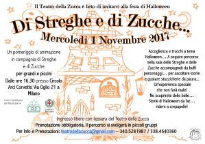 Volantino Halloween 2017 A5 Teatro della Zucca jpg