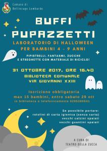 Volantino Labo Buffi Halloween Bellinzago Lombardo ott 2017