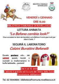 Volantino Rovellasca gen 2018 Calzini befanelli
