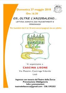 Volantino A4 Lettura Oz CASCINA LISONE maggio 2018